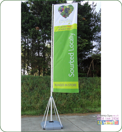 Giant Pole 1150 x 5400 x 800 mm sign