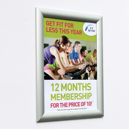 Minimus frame A4 no graphics sign