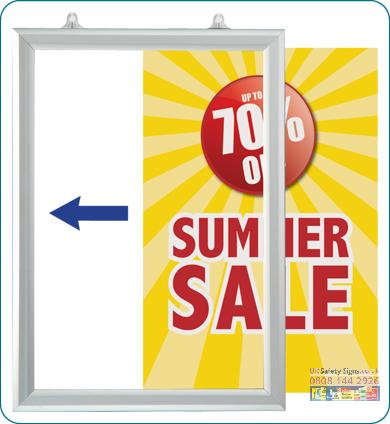 Slide in poster frames landscape A2