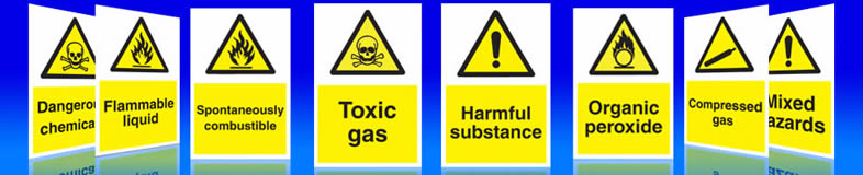 UK suppliers of chemical signs, labels and stickers