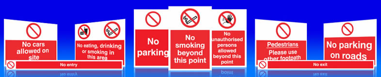 Prohibition Signs No Entry Or Exit Sign Suppliers Uk Witney