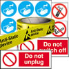 Safety labels.