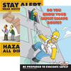 Simpson safety posters.
