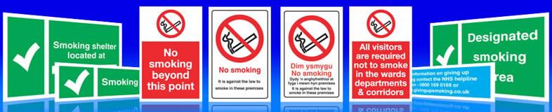 no smoking signs, labels and stickers
