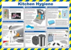 Safety Poster - Kitchen Hygiene Laminated Poster sign