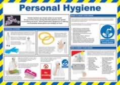 Safety Poster - Personal Hygiene Laminated Poster sign