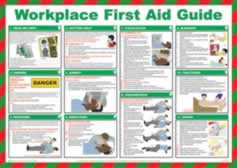 Safety Poster - Workplace First Aid Guide Laminated Poster sign