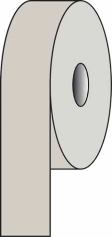 Pipeline Tape Silver-Grey 10 A 03 50 mm x 33 metres