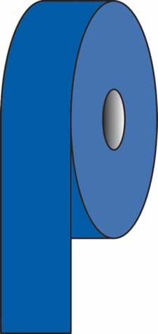 Pipeline Tape Auxillary Blue 18 E 53 150 mm x 33 metres