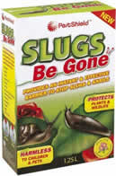 1.25 litre Slug Be Gone sign