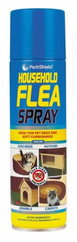 200 ml Household Flea Spray sign