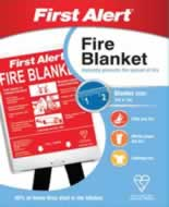 1m x 1m First Alert Fire Blanket sign