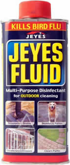 300 ml Jeyes Fluid sign