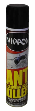 300 ml Nippon Ant and Crawling Insect Aerosol DGN sign