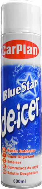 600 ml Aerosol Blue Star De-icer DGN