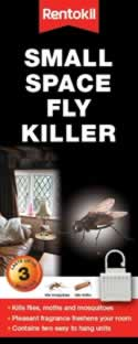 FF78 Small Space Fly Killer DGN sign