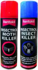 PSI37 Insectrol Moth Killer DGN sign