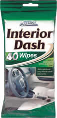 40 Packet Interior Dash Wipes
