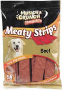 18 Packet Beef Meaty Strips