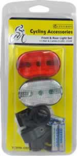 Front and Rear Light Set
