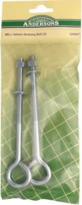 M8 x 150 mm Straining Bolt