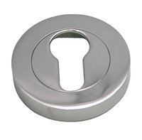 51 mm Chrome Plated Euro Cylinder Escutcheon sign