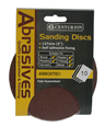 125 mm Assorted Self Adhesive Circular Sanding Discs10 pack