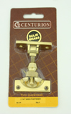 56 mm Polished Brass Brighton Sash Fastener