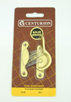 65 mm Polished Brass Fitch Pattern Sash Fastener