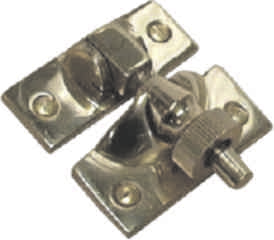 56 mm Chrome Plated Brighton Sash Fastener
