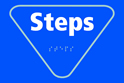 Steps - Taktyle Sign 225 x 150mm