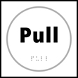 Pull - Taktyle Sign 150 x 150mm