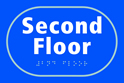 Second Floor - Taktyle Sign 225 x 150mm