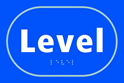Level - Taktyle Sign 225 x 150mm