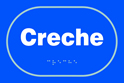 Creche - Taktyle Sign 225 x 150mm