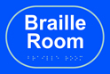 Braille room - Taktyle Sign 225 x 150mm
