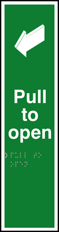 Pull to open - Taktyle 75 x 300mm
