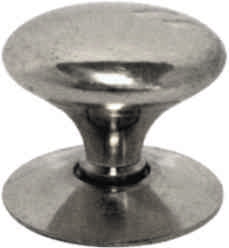 38 mm 1 1 / 2 inch Chrome Plated Victorian Cupboard Knob