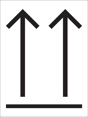 Two arrows sign.