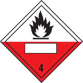 Combustion symbol 4 sign.