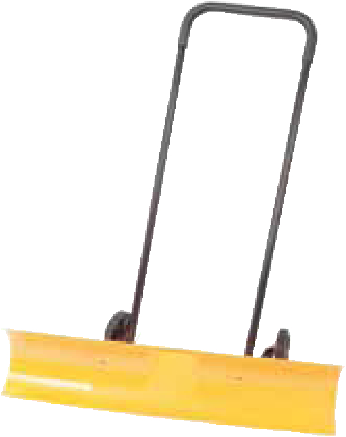 Allows snow to be cleared quickly and effortlessly. Allow snow to be cleared in half the time of conventional shovelling. Rear wheels assist in easy movement. Blade dimensions: 965x203mm (WxH). Handle height: 1120mm.