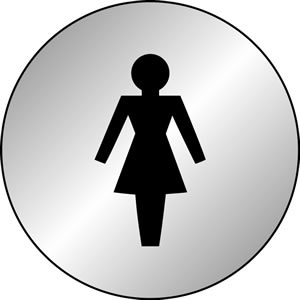 Female symbol sign.