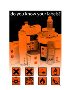 Do you know your labels encapsulated wall chart.