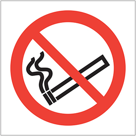 no smoking symbol sign.