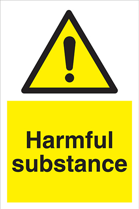 Harmful substance sign.