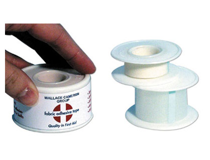 surgical tape 12.5 x 5 metre first aid accessories. Medical tape suitable for securing dressing pads in place over the wound area. The multi purpose adhesive medical tape can be use for a variety of first aid purposes. Predominantly~ medical tape is used sign