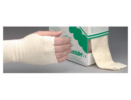 tubular bandage to fit small limb plasters & dressings. sign