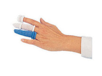 fingerbobs (blue) one (x 6) plasters & dressings. Finger bob bandages have a unique twist & roll design which removes the need for an applicator~ tape & scissors. Finger bob bandages are easy to apply to fingers & toes.Ideal for catering & food industrie sign