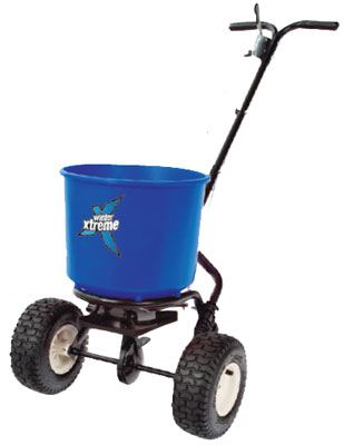 winter xtreme 18kg spreader. Popular spreader due to its ease of use and durability. This resilient path spreader is perfect to cover paths and walkways on your premises.