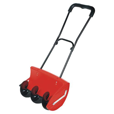rotating snow plough. Clears snow effortlessly rotating blades throws snow out to the right hand side quicker and easier than conventional shovellingIdeal for car parks, walkways and pavementsSimply push through snow.